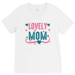 lovely mama V-Neck Tee | Artistshot