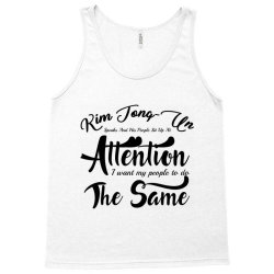 kim jong un speak Tank Top | Artistshot