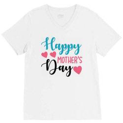 happy mother's day V-Neck Tee   Artistshot