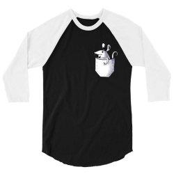 mouse pocket 3/4 Sleeve Shirt | Artistshot
