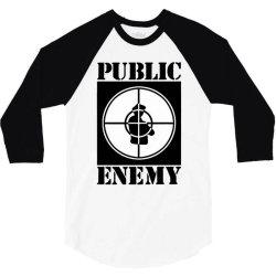 public enemy 3/4 Sleeve Shirt | Artistshot