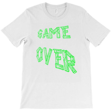 Game Over T-shirt Designed By Acoy