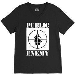 public enemy V-Neck Tee | Artistshot
