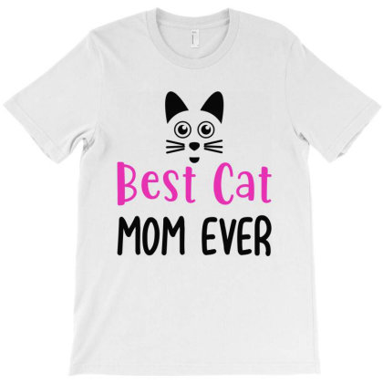 Best Cat Momever T-shirt Designed By Mom Tees
