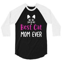 best cat momever 3/4 Sleeve Shirt | Artistshot