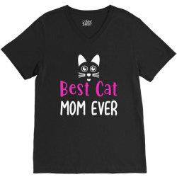 best cat momever V-Neck Tee | Artistshot