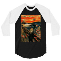 scream 3/4 Sleeve Shirt | Artistshot