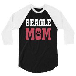 beaglemom 3/4 Sleeve Shirt   Artistshot