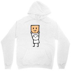 simple way to be happy is with a smile Unisex Hoodie | Artistshot
