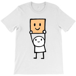 simple way to be happy is with a smile T-Shirt | Artistshot