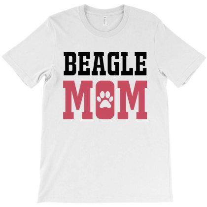 Beaglemom T-shirt Designed By Mom Tees