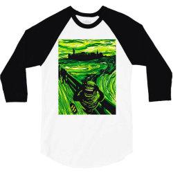 slimers scream 3/4 Sleeve Shirt | Artistshot