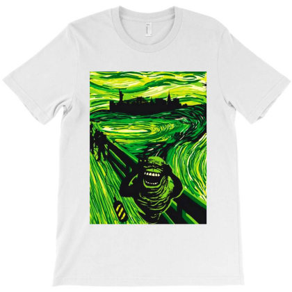 Slimers Scream T-shirt Designed By Top Seller