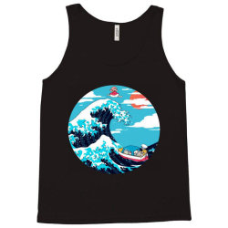 the great wave of ponyo Tank Top | Artistshot