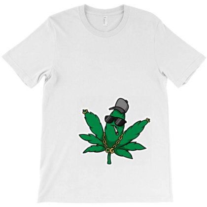 Weed & Chill Tee T-shirt Designed By Coldmonk