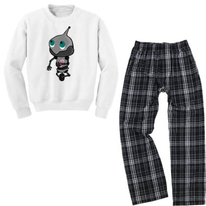 Robo Youth Sweatshirt Pajama Set Designed By Exotic12