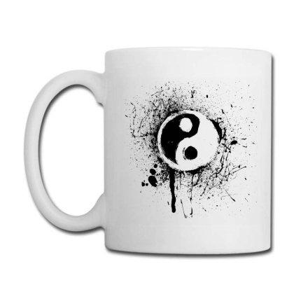 Bloody Yin Yang Coffee Mug Designed By Graphicganga
