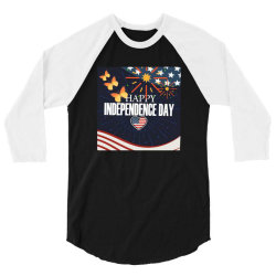 Independence day tee,4th of july 3/4 Sleeve Shirt | Artistshot