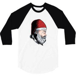 Santa Claus 3/4 Sleeve Shirt   Artistshot