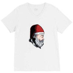 Santa Claus V-Neck Tee   Artistshot