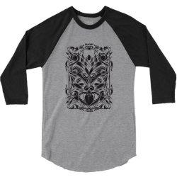 Maori tribe 3/4 Sleeve Shirt | Artistshot
