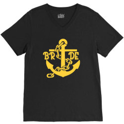 bride anchor V-Neck Tee | Artistshot