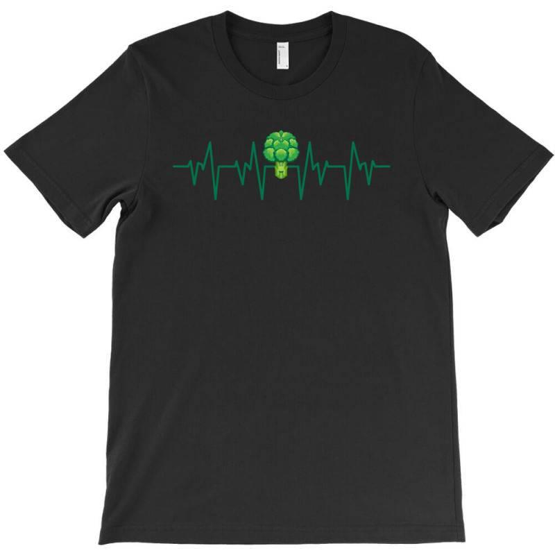 Brocoli Heartbeat T-shirt | Artistshot