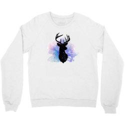 deer watercolor Crewneck Sweatshirt | Artistshot