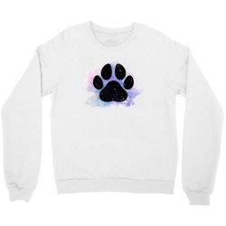 paw watercolor Crewneck Sweatshirt | Artistshot
