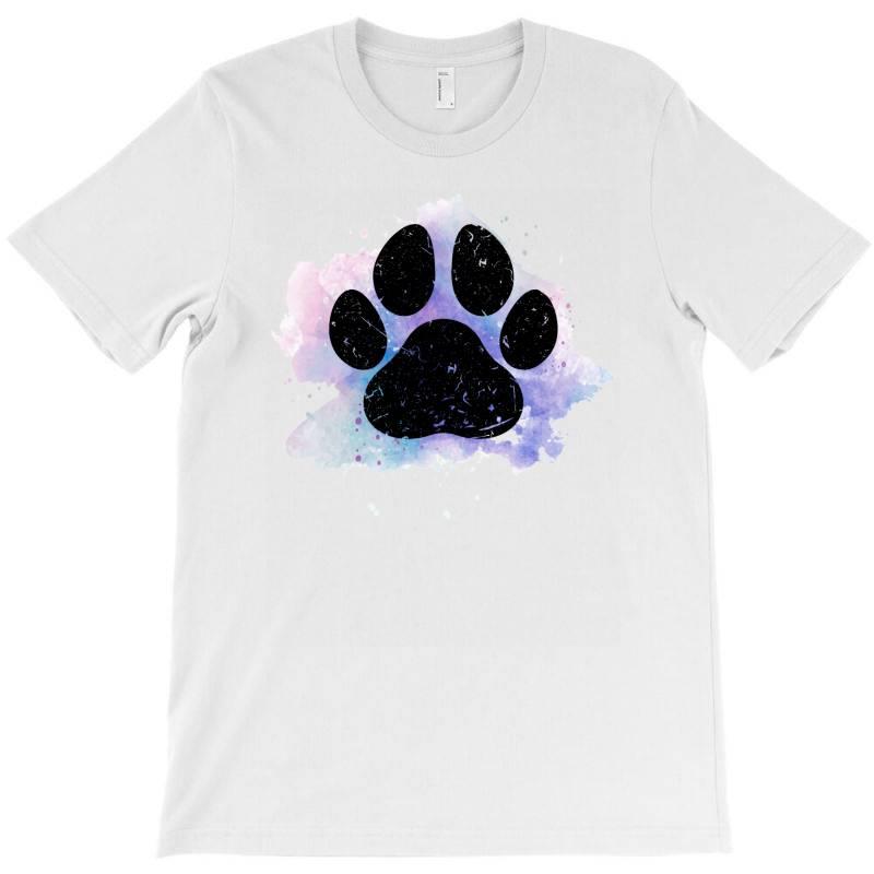 Paw Watercolor T-shirt | Artistshot
