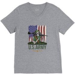 USA army V-Neck Tee | Artistshot