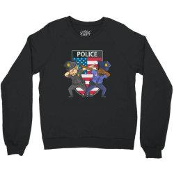 police force against racism and ethnic discrimination Crewneck Sweatshirt | Artistshot