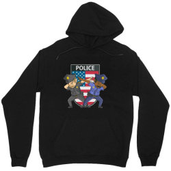 police force against racism and ethnic discrimination Unisex Hoodie | Artistshot