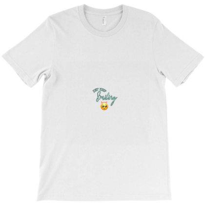 Just Keep Smiling_sam T-shirt Designed By Sumanthgupta