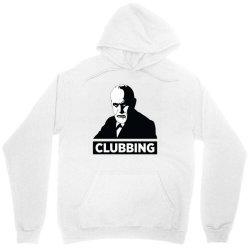 sigmund freud clubbing Unisex Hoodie   Artistshot