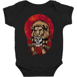 Lion skull Baby Bodysuit | Artistshot