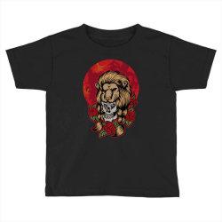 Lion skull Toddler T-shirt | Artistshot