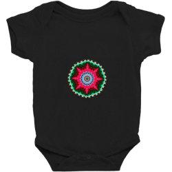 Fractal star Baby Bodysuit | Artistshot