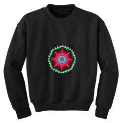 Fractal star Youth Sweatshirt | Artistshot