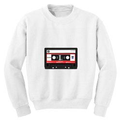 old cassette Youth Sweatshirt   Artistshot