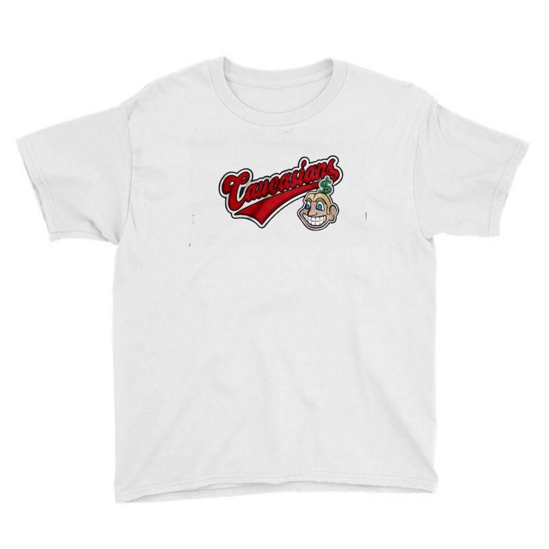 Caucasians T Shirt Youth Tee   Artistshot
