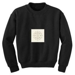 Floral Art Youth Sweatshirt | Artistshot