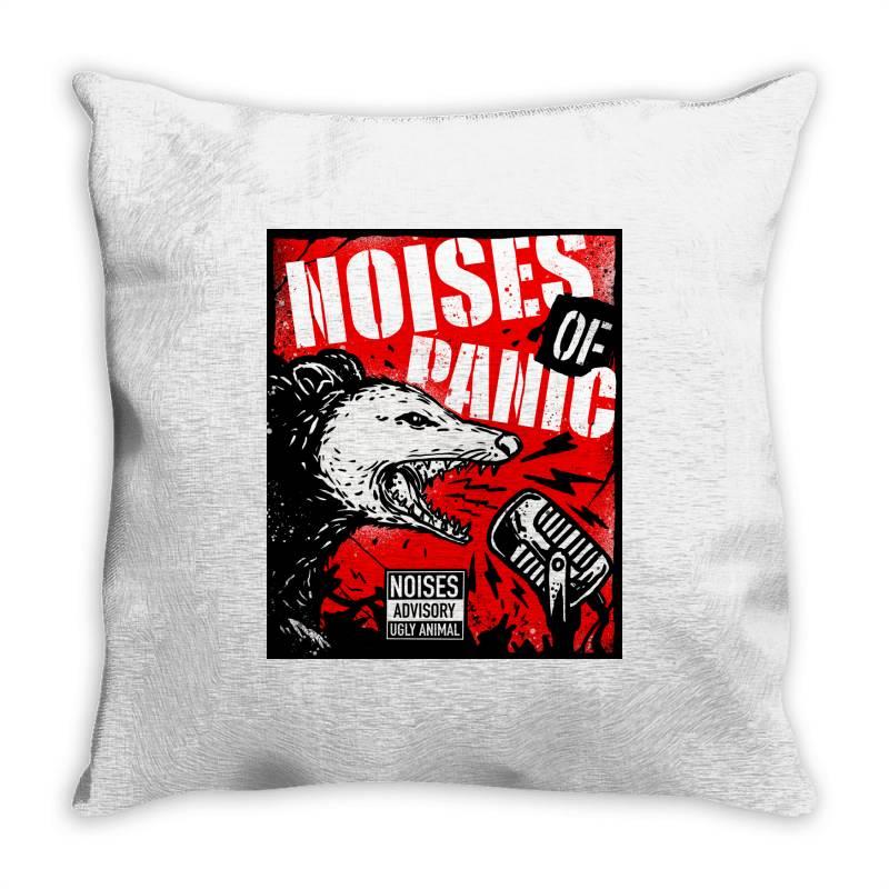 Noises Of Panic Throw Pillow   Artistshot