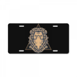 Lion License Plate | Artistshot