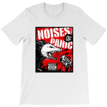 Noises Of Panic T-shirt Designed By Sober Artwerk
