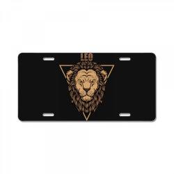Lion License Plate | Artistshot