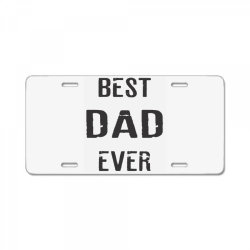 BEST DAD EVER License Plate   Artistshot