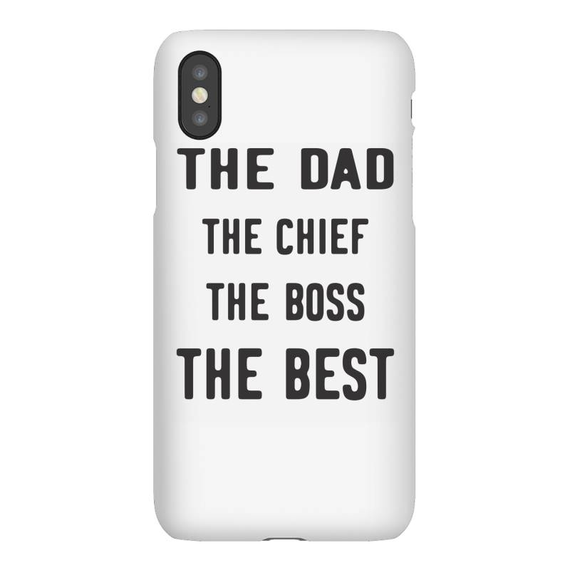 The Dad The Chief The Boss The Best Iphonex Case | Artistshot