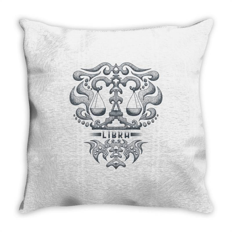 Libra Throw Pillow | Artistshot