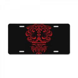 Libra License Plate   Artistshot